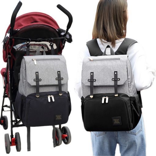 Bently Diaper Bag backpack with strap for stroller