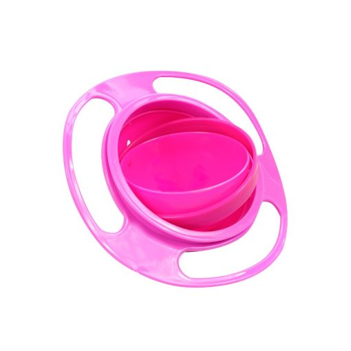Spill Proof Food Bowl Pink