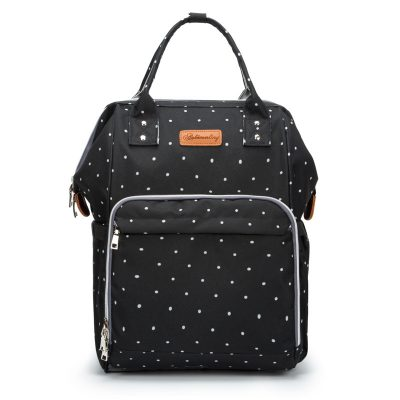 Baby Diaper Bag Backpack blue dot