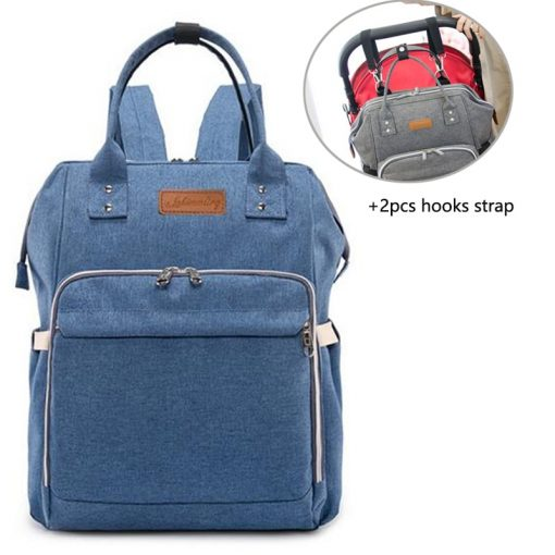 Baby Diaper Bag Backpack Dark Blue
