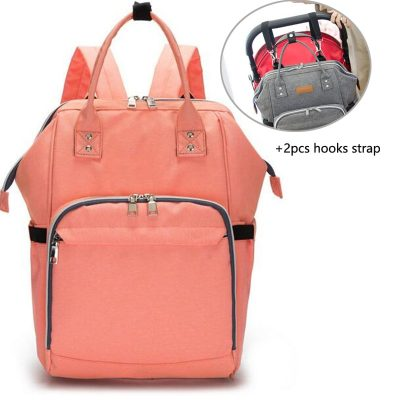 Baby Diaper Bag Backpack Orange