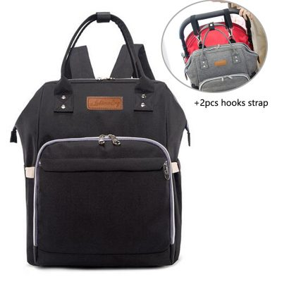 Baby Diaper Bag Backpack Black