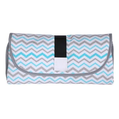 3-in-1 multifunctional Baby diaper Changing pad Zigzag