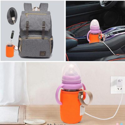 USB Bottle Warmer connect with usb port of bag