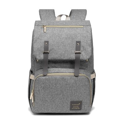 Caprice Nappy/Diaper Bag backpack Grey