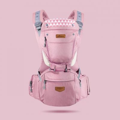 3 In 1 Ergonomic Baby Carrier Pink