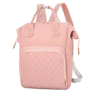 Candy diaper bag Backpack Pink