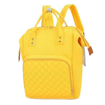 Candy diaper bag Backpack Yellow