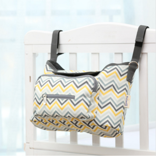 Azure Diaper Bag with storage options