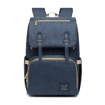 Caprice Nappy/Diaper Bag backpack Navy Blue