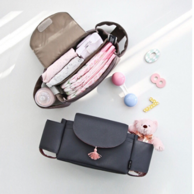 Cove Stroller Organiser with good storage
