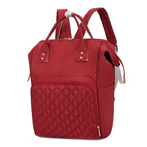 Candy diaper bag Backpack Red