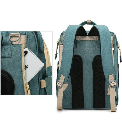Avery Nappy Bag Backpack with comfortable strap