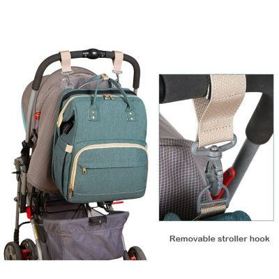 Avery Nappy Bag Backpack with stroller hook