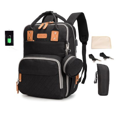 Enzo diaper bag backpack Black