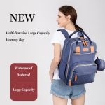 Enzo Nappy bag backpack with large storage