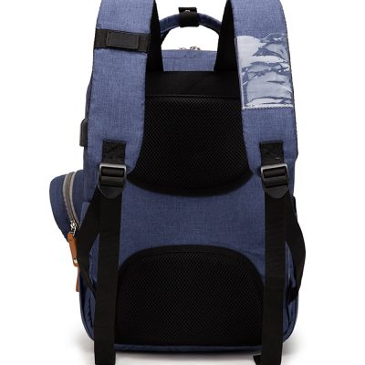 Enzo diaper bag backpack with card sleeve