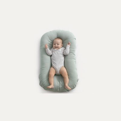 Portable Cotton Baby Bionic Bed Green