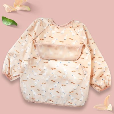 Baby Long Sleeve Apron Duck