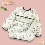 Baby Long Sleeve Apron Squirrel