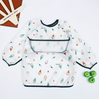 Baby Long Sleeve Apron Hat man