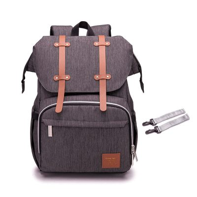Alira Nappy bag Backpack Brown Grey