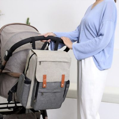Sydney Nappy Bag Backpack with stroller hook