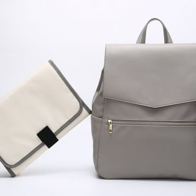 Lexi Nappy bag Backpack Grey